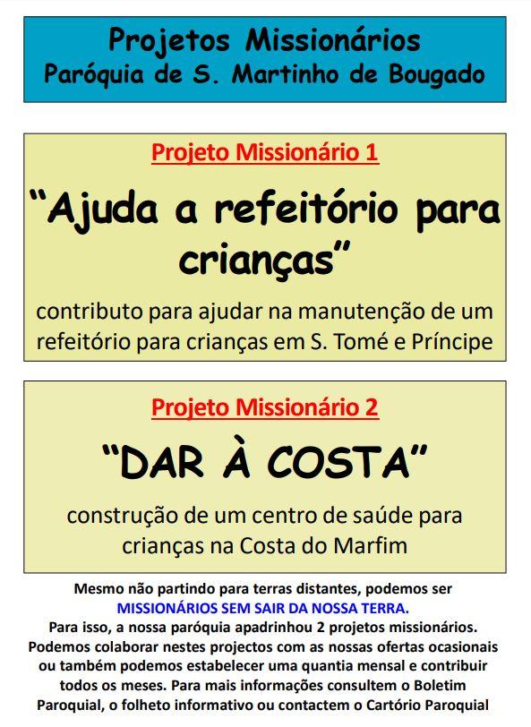 projetos missionarios